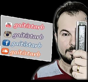 rede sociais GAITISTARB